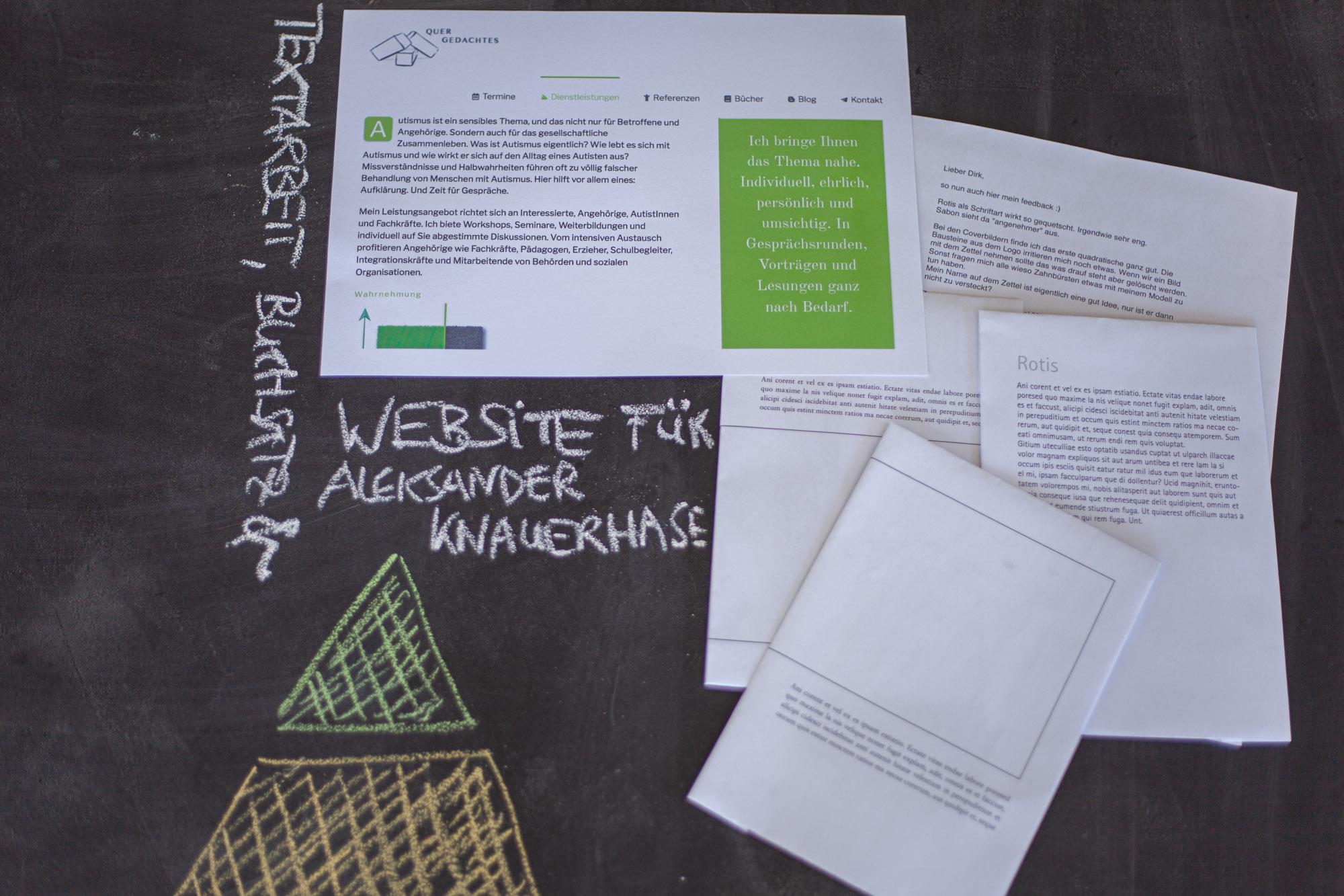 Website Aleksander Knauerhase